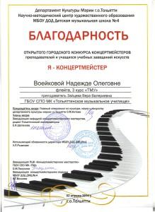 Воейкова Н.С. я-концертмейстер