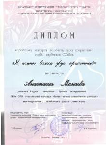 Манаева А. Диплом
